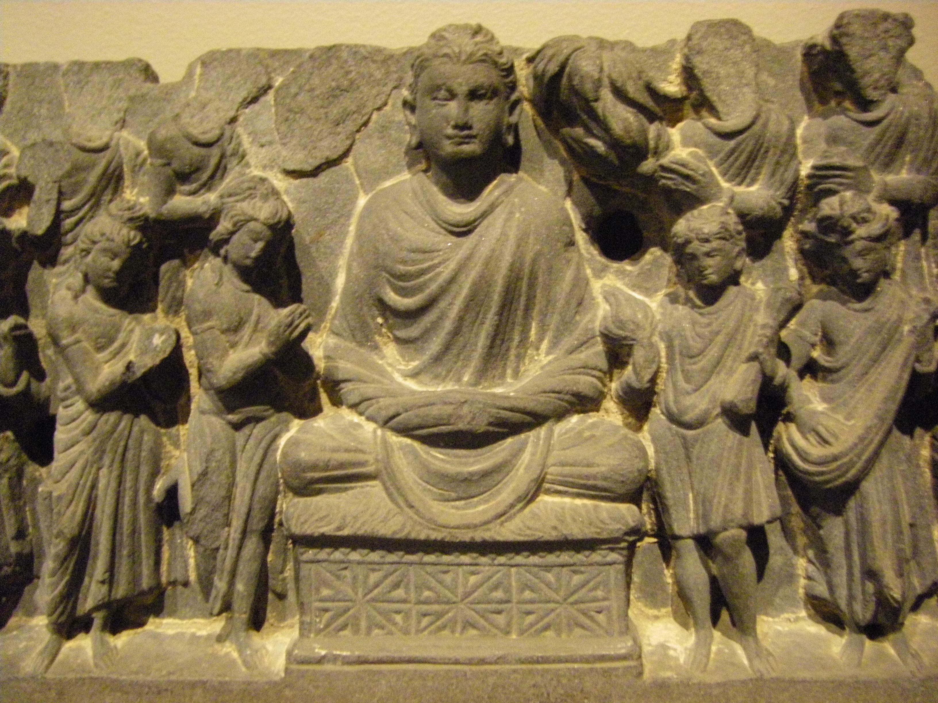 Meditating Buddha Gandhara The buddha